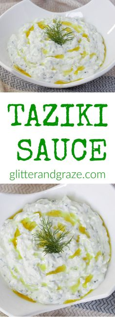 This taziki sauce is made with fresh ingredients and can be prepared in such a short time. Taziki sauce is perfect to use as a dip or to spread on your favorite sandwiches.