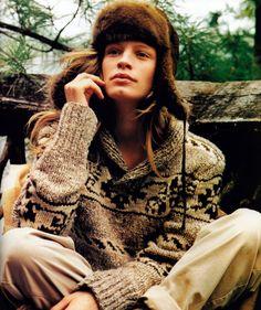 """periodicult90s: """" Ralph Lauren, American Vogue, October 1998. """""""