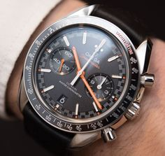 Omega Speedmaster Racing Co-Axial Master Chronometer Watches Hands-On New Omega Watch, Luxury Watches, Rolex Watches, Breitling, Omega Speedmaster Racing, Omega Railmaster, Vintage Watches For Men, Cool Watches, Retro Watches