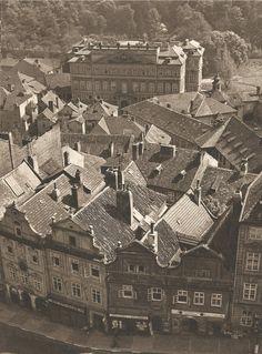 Jiří Jeníček, Prague, Mala Strana from above, 40's