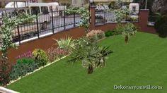 nice Çim bahçe düzenlemeleri