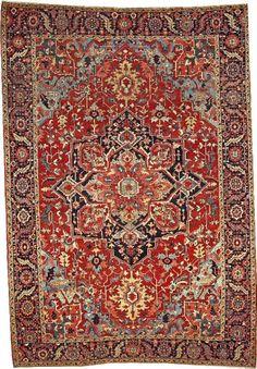 Persian Serapi rug, 1900
