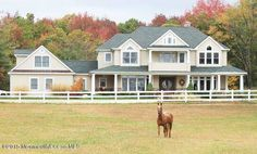 Equestrian Estate for Sale in  Monmouth County in New Jersey. Bring your horses and enjoy the magnificent views this beautiful 5 acre home has to offer. Pull into the driveway and drive along the paddock that brings you to the 4700sq ft home. Double Mahogany entry doors lead you to a 2 story foyer. The first level has wide plank birch flooring throughout. Kitchen features custom cherry cabinets, granite counters and stainless steel appliances.