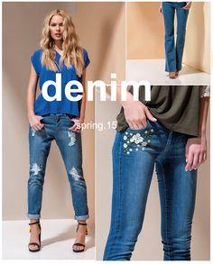Denim. Woman SS15 #Guimanos