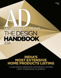 AD Architectural Digest India - The Design Handbook 2014 : India's Most extensive home products listing, Living room, Furniture library, The Great Eastern home, Jumbo collection and more. Innovative Websites, Ad Architectural Digest, Soft Furnishings, Ads, India, Urban, Magazine, Living Room, Architecture
