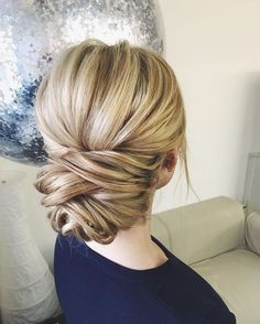 cool 55 Beautiful Wedding Updo Hairstyle Ideas http://lovellywedding.com/2018/03/21/55-beautiful-wedding-updo-hairstyle-ideas/