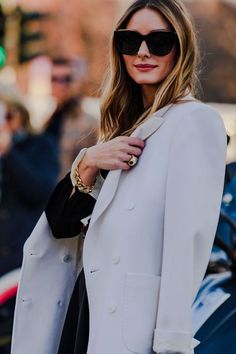 Milan Fashion Week Street Style Looks for Fall 2020 Milan Fashion Week Street Style, Street Style Trends, Autumn Street Style, Street Style Looks, Street Style Women, Olivia Palermo Lookbook, Olivia Palermo Style, Love Fashion, Fashion Outfits