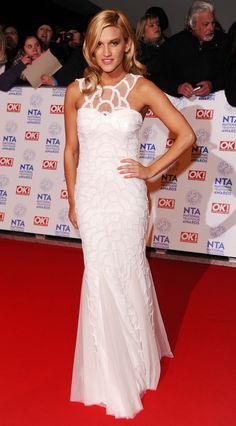 Ashley Roberts #NTAs - WOW!! that dress is absolutly stunning! and she just looks amazing! I wish i could own a dress like this but godknows where id wear it too! haha!