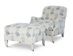 1553-Dorset Fully Upholstered Chair Home Furniture, Furniture Design, Highland Homes, Upholstered Ottoman, Slipcovers, Window Treatments, Upholstery, House Design, Couch