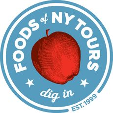 Logo for Original Greenwich Village Food and Culture Tour   go on Sat. for a tour and lunch?
