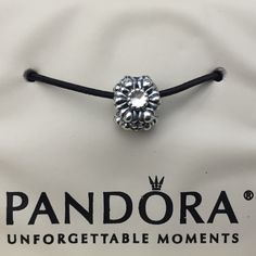 NWT- Authentic Pandora FlowerBlooms Charm- April NEW  Authentic Pandora Flower Blooms Charm.  This is beautiful can be used as a charm alone and add a pop of color to your Bracelet or use it as a birthday stone. This is April Birthday color Stone. This is also a retired Charm!!! Pandora Jewelry