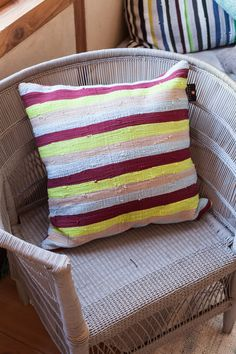 Solid fabric 50x50cm cushion by Ashanti Design   We ship world wide   Send us an email to info@ashantidesign.com to learn more or place your order today!