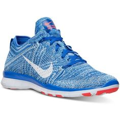 Nike Women's Free Tr Flyknit Training Sneakers from Finish Line (5,015 DOP) ❤ liked on Polyvore featuring shoes, sneakers, flyknit shoes, flyknit trainer, flyknit sneakers, training sneakers and training shoes