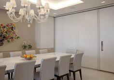 Sala de jantar assinada por Marcelo Rosset.