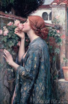 John+William+Waterhouse+-+The+Soul+of+the+Rose,+1908