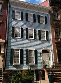 Town House. Brooklyn, NY. early 1800s.