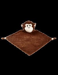 Blankie monkey cubbies brand embroidered with your childs name on it! In your choice of font, and Thread color for Embroidery!