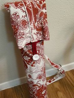 Sold on Etsy, February 2011. Yoga mat bag, made from all new materials.
