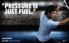 Nike Tennis 2013 -- Battle tested. Ready for more. Roger Federer. January 2013.