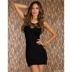 Robe sexy Kamelya black