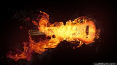 You can view, download and comment on Burning Guitar free hd wallpapers for your desktop backgrounds, mobile and tablet in different resolutions.