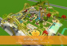 I want to share my resource list with everyone who's interested in creating their own amusement park. :3 List is updated later when I find/remember where the CC is downloaded. [[MORE]]My creations: • Sky High Roller Coaster w/ iCad • Roller coaster...