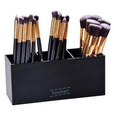 Cosmetic Storage Makeup Box Lipstick Mascara Acrylic Organizer Brush  3 Lattices #Unbranded