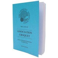 Jaques Croquet Rules Book - 75000