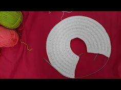 Tığ İşi Yalancı İğne Yelpaze Oyası Yapılışı Türkçe Videolu