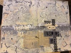 Inspiration Wednesday week 1 Jan. 21, 2015 collage I stamped the wrong date!