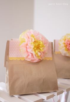 spring themed party from party bees blog