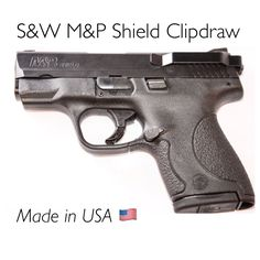 Smith & Wesson M&P Shield 9MM .40 & .45 Caliber Mounts on Right or Left Side