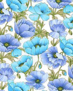 Florabunda - Poppy Breezes - at eQuilter.com