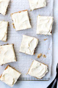 Bourbon Butterscotch Blondies | Today We Bake