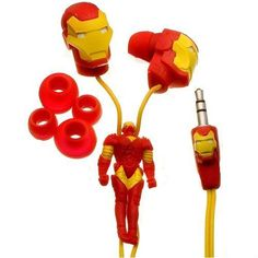 I found 'iHip MVF10110IM Marvel Iron Man Classic Sculpted Ear Buds (Red/Yellow)' on Wish, check it out!