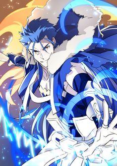 Cu Chulainn in Fate /Grand  Order.