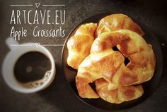 Apple Croissants for weekend's brekkie?  It can be ready in 20 minutes! - http://artcave.eu/blog/apple-croissants-for-weekends-brekkie-it-can-be-ready-in-20-minutes
