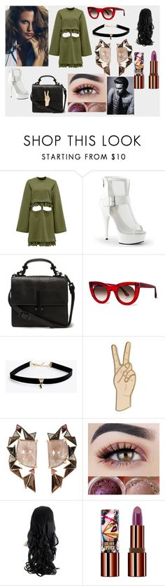 """""""Lucy, going still further"""" by evaaaaa-333 on Polyvore featuring Thierry Lasry, Lucky Brand, Nak Armstrong and Teeez"""