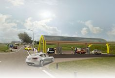largest network of solar-powered EV chargers in the netherlands - designboom