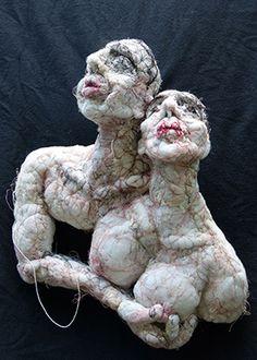 """Anne Bothuon """"Une humanité cousue de fil blanc"""""""