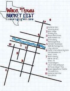 Waco, Texas Bucket List