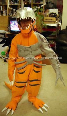 Homemade Digimon Costume