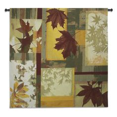 Saffron Intuition Wall Tapestry - 53W x 53H in. - 6362-WH