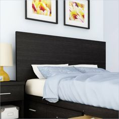 Sonax Willow Panel Headboard in Ravenwood Black - XX-1400 - Lowest price online on all Sonax Willow Panel Headboard in Ravenwood Black - XX-1400