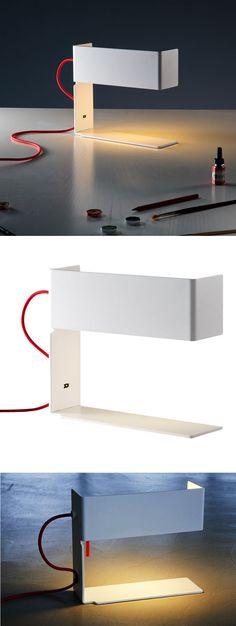 Martinelli Luce Bandero Minimalist Table Lamp