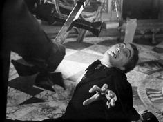 Christopher Lee in Horror of Dracula directed by Terence Fisher, 1958