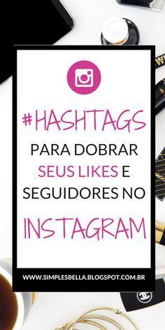 As hashtags no Instagram são as palavras-chave que usamos em blogs para otimizar um conteúdo, ou seja, elas são e precisam ser usadas para transformar a sua foto em uma espécie de link que pode ser encontrado. Pesquisas mostram que fotos com 11 ou mais hashtags têm um maior engajamento, e mesmo elas sendo as melhores amigas das fotos no Instagram muita gente cisma em não usá-las. #dicasinstagram #instagramdicas #instagram #hashtags #blogging #marketingdigital #marketing