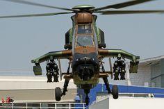 Hélicoptère d'attaque EC665 Tigre HAD de l'ALAT (Aviation Légère de l'Armée de Terre)