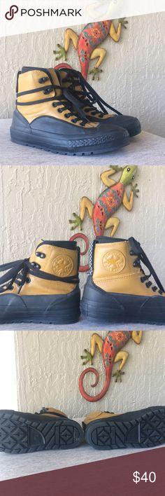 Converse Chuck Taylor All Star Tekoa unisex Converse Chuck Taylor all star Tekoa  Waterproof lifestyle boots  Keeps feet warm and dry  High top  Unisex men's 6  Women's 7.5  EUC barely worn Converse Shoes Boots