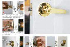 Homecenter Door Handles, Home Decor, Home, Live, Blue Prints, Manualidades, Door Knobs, Decoration Home, Room Decor